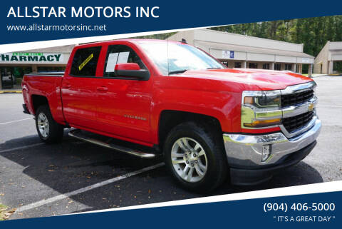 2016 Chevrolet Silverado 1500 for sale at ALLSTAR MOTORS INC in Middleburg FL