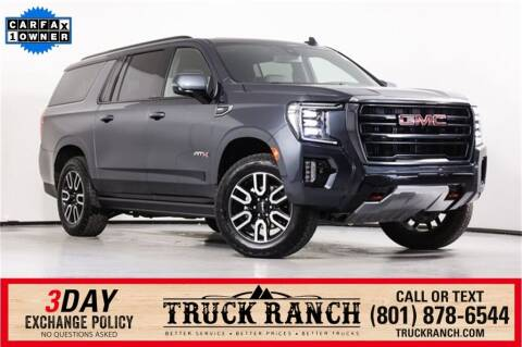 2021 GMC Yukon XL for sale at Truck Ranch in American Fork UT