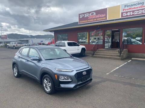 2019 Hyundai Kona for sale at Pro Motors in Roseburg OR