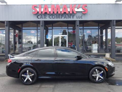 2015 Chrysler 200 for sale at Siamak's Car Company llc in Salem OR