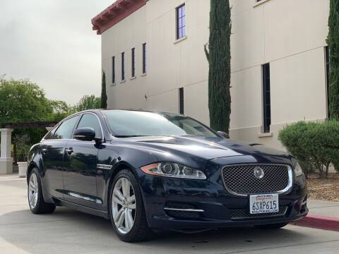 2011 Jaguar XJL for sale at Auto King in Roseville CA