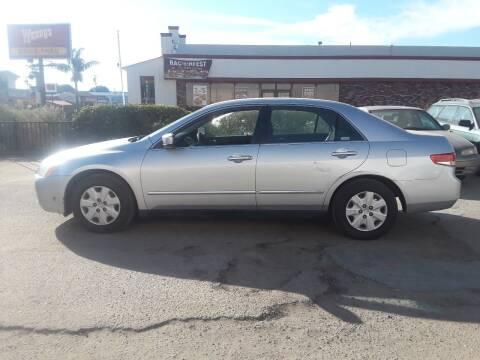 2003 Honda Accord for sale at Goleta Motors in Goleta CA