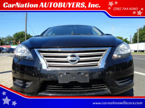2013 Nissan Sentra for sale at CarNation AUTOBUYERS, Inc. in Rockville Centre NY
