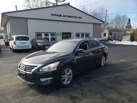 2013 Nissan Altima for sale at Topham Automotive Inc. in Middleboro MA
