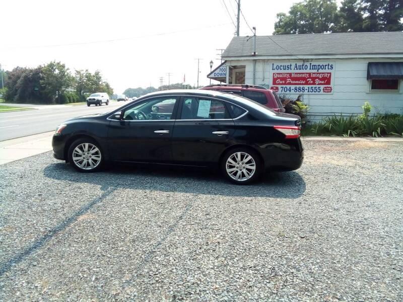 2013 Nissan Sentra for sale at Locust Auto Imports in Locust NC
