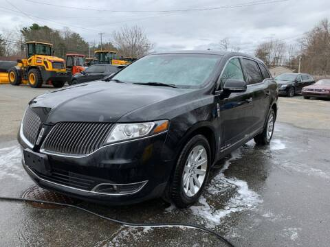 2016 Lincoln MKT Town Car for sale at Velocity Motors in Newton MA