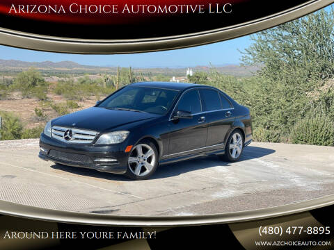 2011 Mercedes-Benz C-Class for sale at Arizona Choice Automotive LLC in Mesa AZ