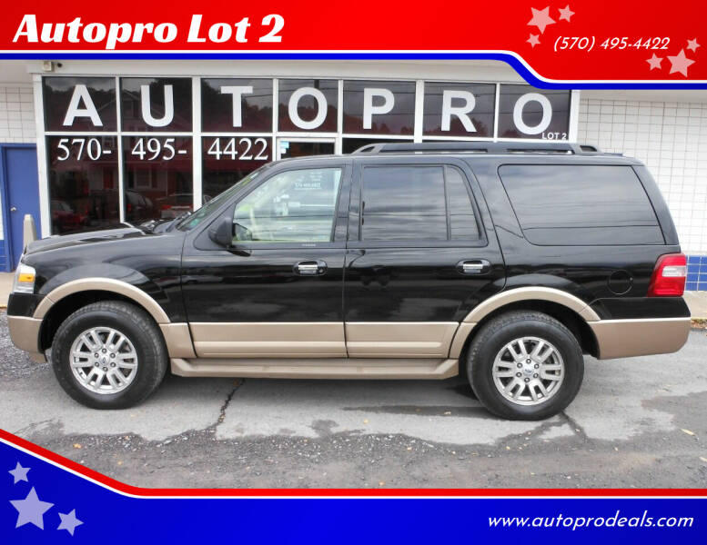 2012 Ford Expedition for sale at Autopro Lot 2 in Sunbury PA