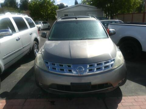 2004 Nissan Murano for sale at Marvelous Motors in Garden City ID