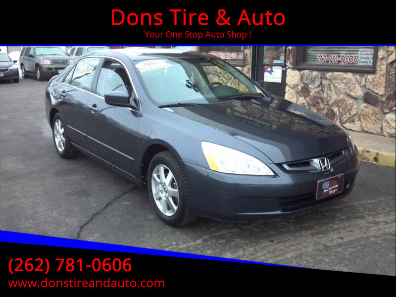 2005 Honda Accord for sale at Dons Tire & Auto in Butler WI