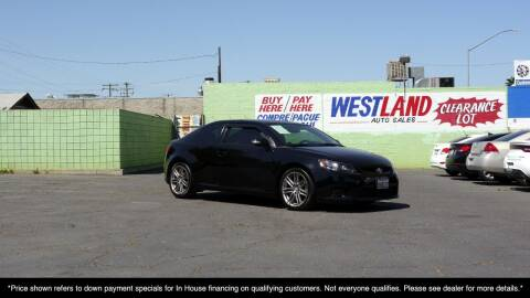 2013 Scion tC for sale at Westland Auto Sales on 7th in Fresno CA