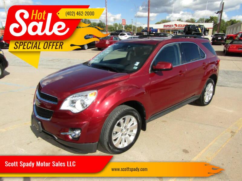 2011 Chevrolet Equinox for sale at Scott Spady Motor Sales LLC in Hastings NE