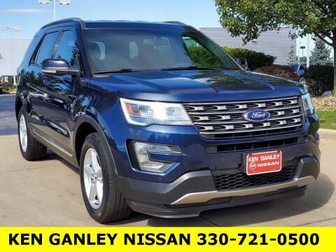 2017 Ford Explorer for sale at Ken Ganley Nissan in Medina OH