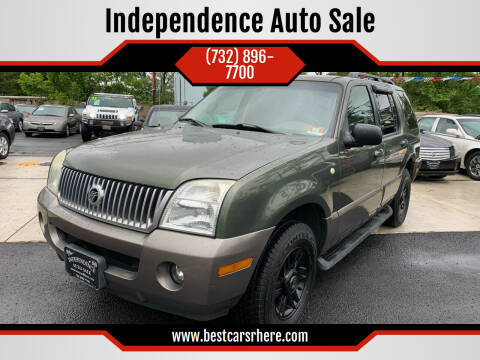 2003 Mercury Mountaineer for sale at Independence Auto Sale in Bordentown NJ