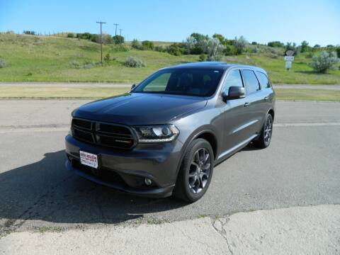 2016 Dodge Durango for sale at Dick Nelson Sales & Leasing in Valley City ND
