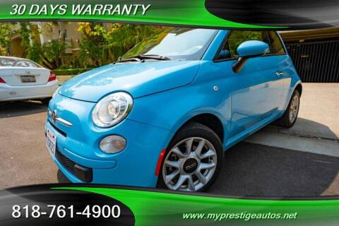 2017 FIAT 500 for sale at Prestige Auto Sports Inc in North Hollywood CA