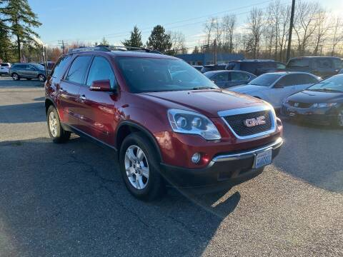 2010 GMC Acadia for sale at LKL Motors in Puyallup WA