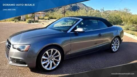 2014 Audi A5 for sale at DORAMO AUTO RESALE in Glendale AZ