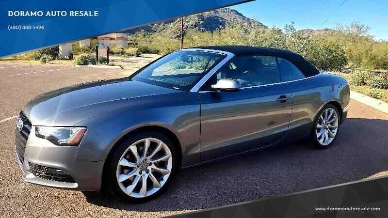 2014 Audi A5 for sale at DORAMO AUTO RESALE in Glendale AZ