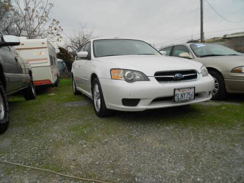 2005 Subaru Legacy for sale at Mountain Auto in Jackson CA