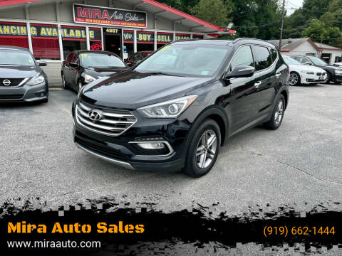 2017 Hyundai Santa Fe Sport for sale at Mira Auto Sales in Raleigh NC