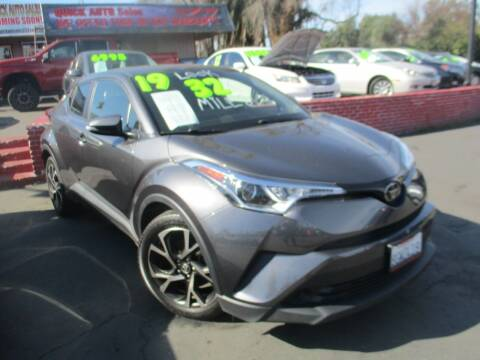 2019 Toyota C-HR for sale at Quick Auto Sales in Modesto CA