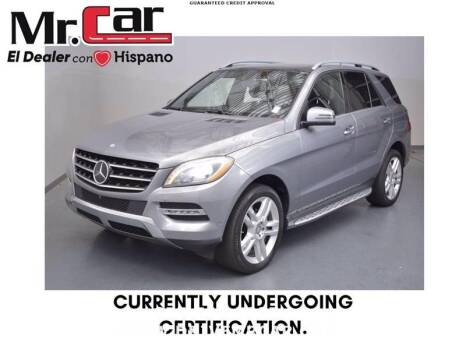 2014 Mercedes-Benz M-Class for sale at Mr. Car City in Brentwood MD