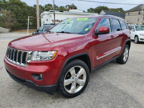 2012 Jeep Grand Cherokee for sale at Porcelli Auto Sales in West Warwick RI
