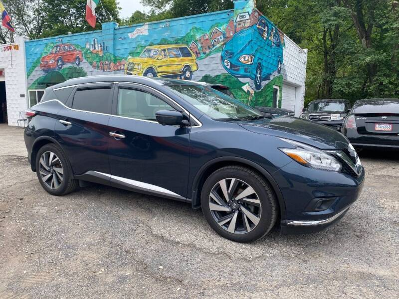 2017 Nissan Murano for sale at Showcase Motors in Pittsburgh PA