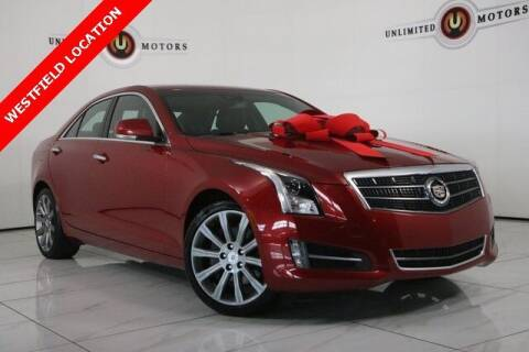 2013 Cadillac ATS for sale at INDY'S UNLIMITED MOTORS - UNLIMITED MOTORS in Westfield IN