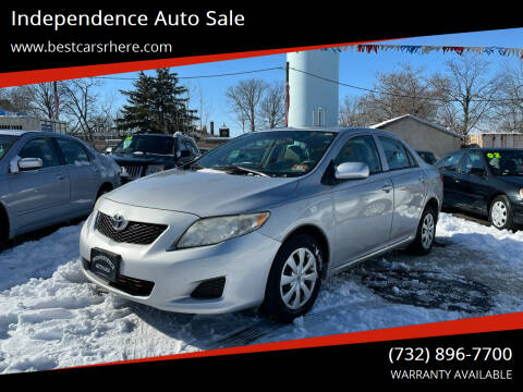 2010 Toyota Corolla for sale at Independence Auto Sale in Bordentown NJ