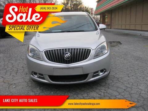 2012 Buick Verano for sale at LAKE CITY AUTO SALES in Forest Park GA