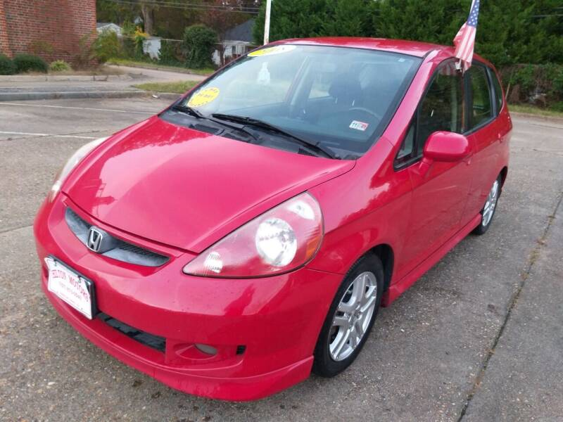 2008 Honda Fit for sale at Hilton Motors Inc. in Newport News VA