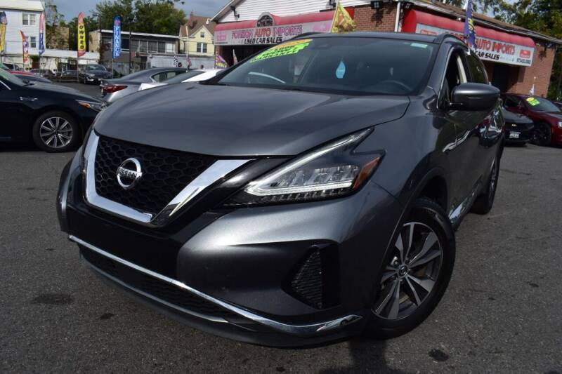2020 Nissan Murano for sale at Foreign Auto Imports in Irvington NJ