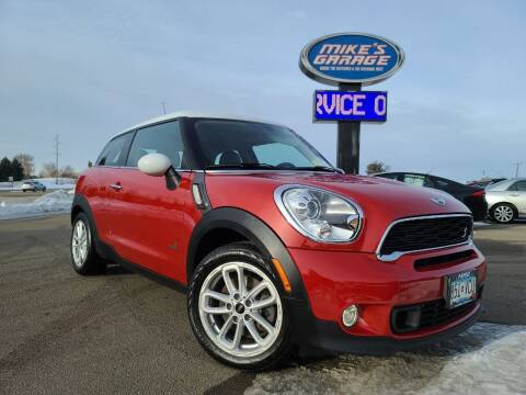 2015 MINI Paceman for sale at Monkey Motors in Faribault MN