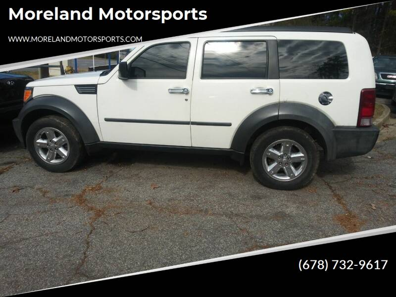 2007 Dodge Nitro for sale at Moreland Motorsports in Conley GA