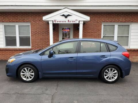 2012 Subaru Impreza for sale at UPSTATE AUTO INC in Germantown NY