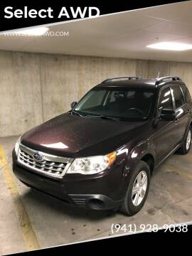 2013 Subaru Forester for sale at Select AWD in Provo UT