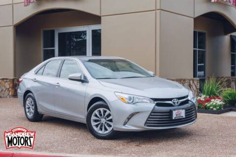 2017 Toyota Camry for sale at Mcandrew Motors in Arlington TX