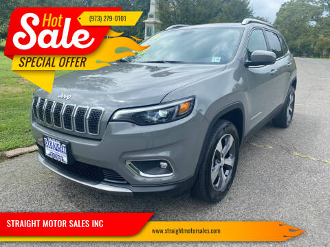 2019 Jeep Cherokee for sale at STRAIGHT MOTOR SALES INC in Paterson NJ