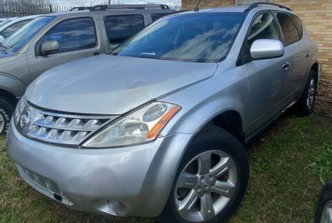 2007 Nissan Murano for sale at Ody's Autos in Houston TX