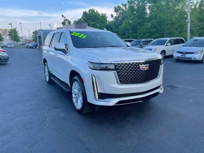 2021 Cadillac Escalade for sale at LexTown Motors in Lexington KY