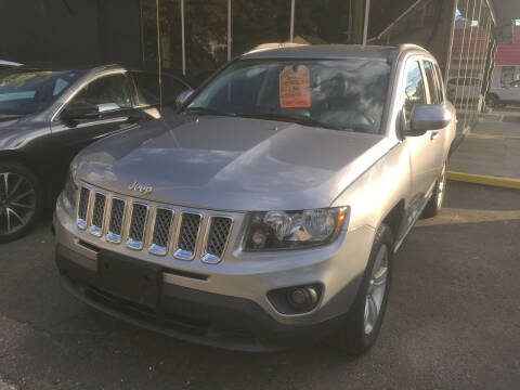 2017 Jeep Compass for sale at MELILLO MOTORS INC in North Haven CT