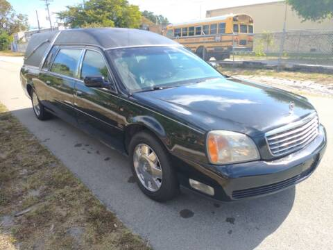 2000 Cadillac Deville Professional for sale at LAND & SEA BROKERS INC in Deerfield FL