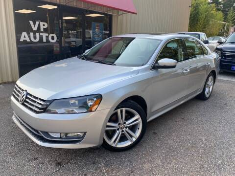 2015 Volkswagen Passat for sale at VP Auto in Greenville SC