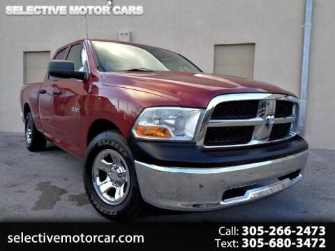 2010 Dodge Ram Pickup 1500 for sale at Selective Motor Cars in Miami FL
