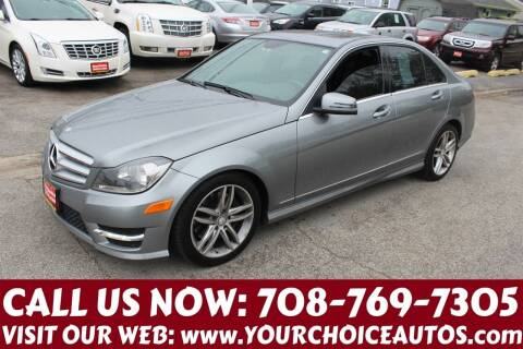 2013 Mercedes-Benz C-Class for sale at Your Choice Autos in Posen IL