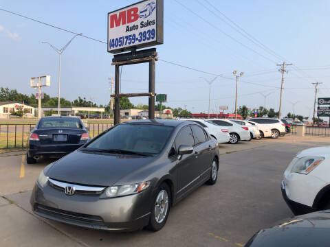 2008 Honda Civic for sale at MB Auto Sales in Oklahoma City OK