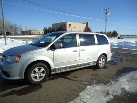 2012 Dodge Grand Caravan for sale at Xtreme Auto Inc. in Hermantown MN