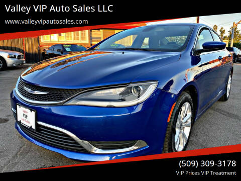 2016 Chrysler 200 for sale at Valley VIP Auto Sales LLC in Spokane Valley WA